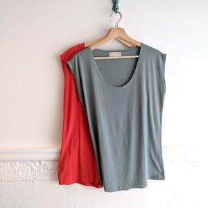 Synergy • 2 Organic Scoop Neck Tee Bundle